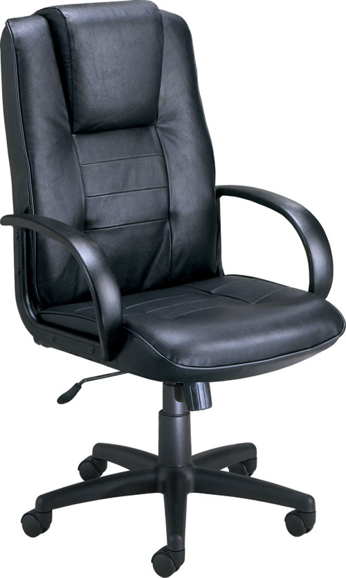 OFM 500-L Promotional High Back Chair - Leather