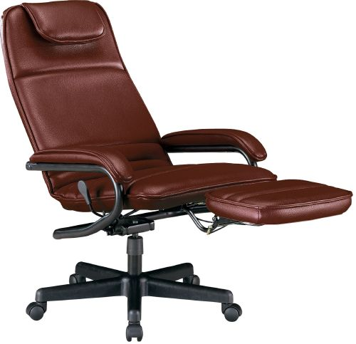 OFM 680-703 Power Rest Executive Recliner - Burgundy