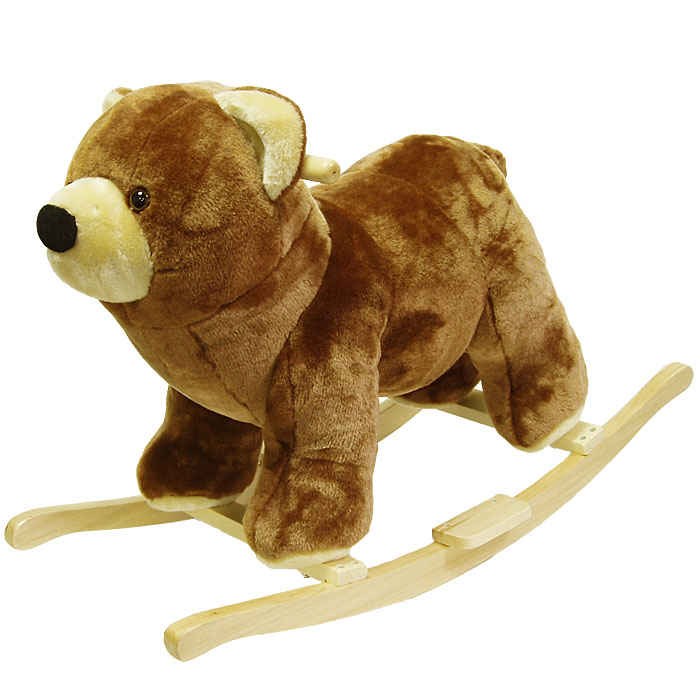 Poker 80-15BEAR Bear Plush Rocking Animal