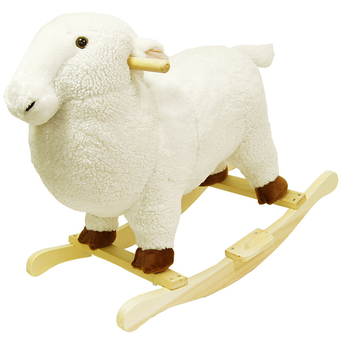 Poker 80-78LAMB Lamb Plush Rocking Animal