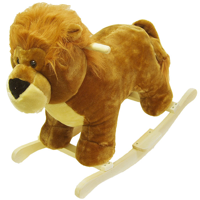 Poker 80-77LION Lion Plush Rocking Animal