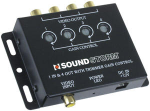 SOUNDSTORM SVA4 Video Signal Amplifier 1-in  4-out
