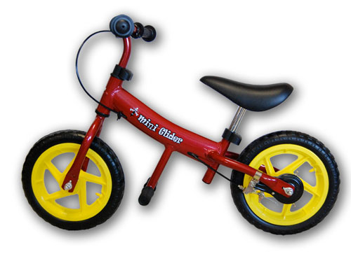 Mini Glider 771287 12 Inch Balance Bike - Red