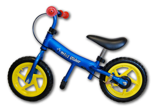 Mini Glider 771253 12 Inch Balance Bike - Blue
