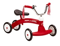 Radio Flyer 20 Tricycle Wide Front Wheels for Stability