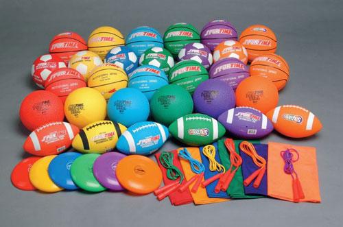 Sportime 087956 48-Piece Gradestuff Elementary School Pack