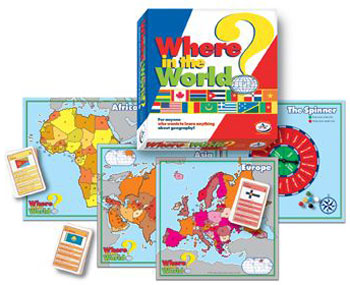 Talicor 701 Where In The World Board Game