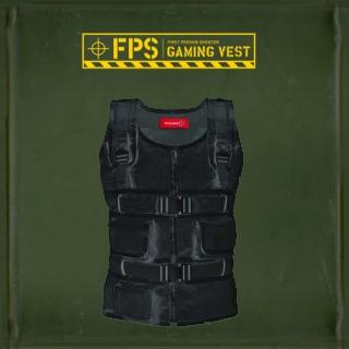 TN Games TRSVSM-3rd Space Vest- Black Small