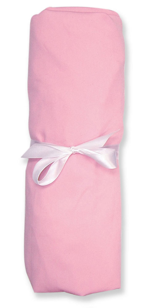 Trend Lab 101339 SOLID JERSEY SHEET - PINK; All Cotton Jersey - SEE ALSO 101359