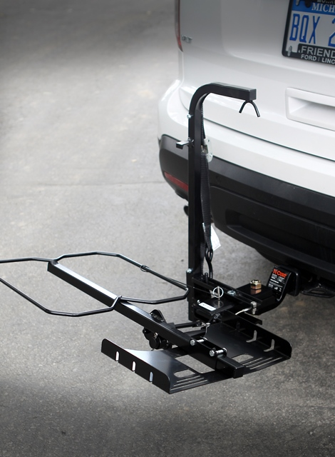 Wheelchair Carriers 001 Tilt N Tote For Folding WheelChairs