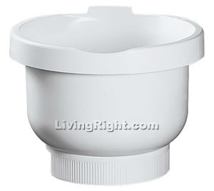 Bosch MUZ4KR3 Compact Plastic Bowl - White