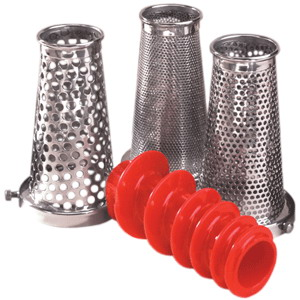 Weston 07-0858 ROMA Sauce Maker & Food Strainer (4 pc. Accs Kit)