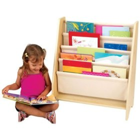 KidKraft 14221 Sling Book Shelf - Natural