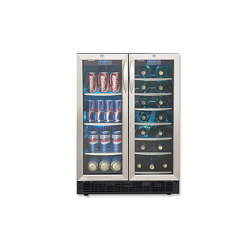 Danby DBC2760BLS 5.0 cu.ft beverage center / 27 bottle wine cooler