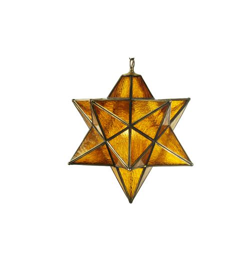 Meyda Tiffany 65693 18 Inch Moravian Star