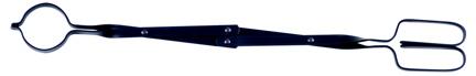 Uniflame T-1005 26 INCH BLACK SCISSOR TONGS