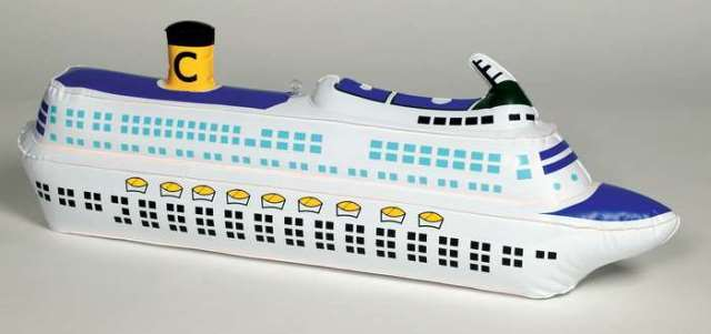 Daron Worldwide Trading  EB854 Costa Cruise Lines Inflatable Ship