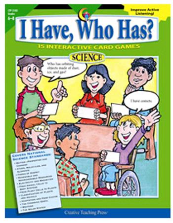 Trend Enterprises CTP2183 I Have Who Has Science Gr 6-8