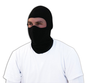 Zan Headgear WBC114NFM Balaclava  Coolmax with Neoprene Face Mask  Black