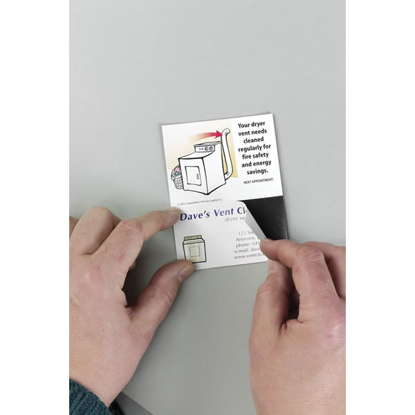 Chimney 99205 Dryer Vent Cleaning Repeat Appointment Magnets and Cards  Pack of 100