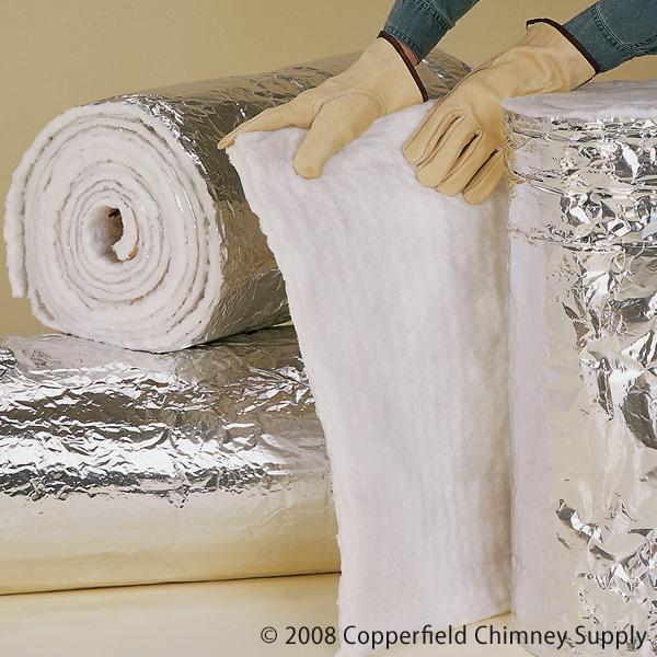 Chimney 19124 HomeSaver Foil-face Flexwrap  1/4 x 24 x 25   2mil Foil