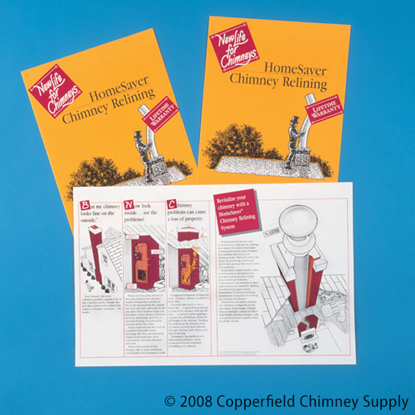 Chimney 99322 HomeSaver Relining Brochures  Pack of 50