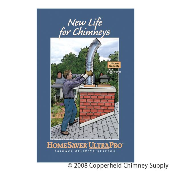 Chimney 99308 HomeSaver Ultrapro Reline Brochure  100 Pack