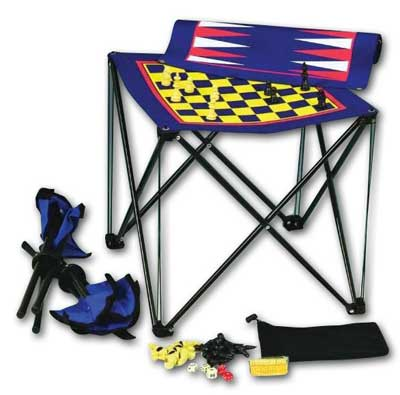 Ruda Overseas 332 Magnetic Travel 3-1 Game with Chairs