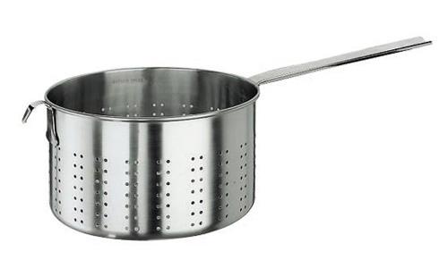 Paderno World Cuisine 11924-18 Pasta Strainer  Stainless Steel