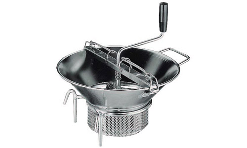 Paderno World Cuisine 42574-37 Food Mill  Stainless Steel  #5  With 3 mm Sieve