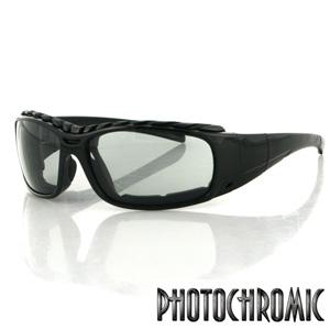 Zan Headgear BGUN001 Gunner Convertible  Black Frame  Photochromic