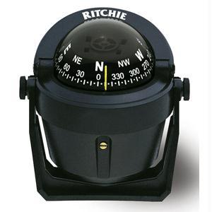 Ritchie Compass B-51 Explorer Compass Bracket Mount - Black