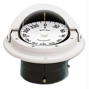 """Ritchie Compass F-82W 3"""" Voyager Compass - White"""
