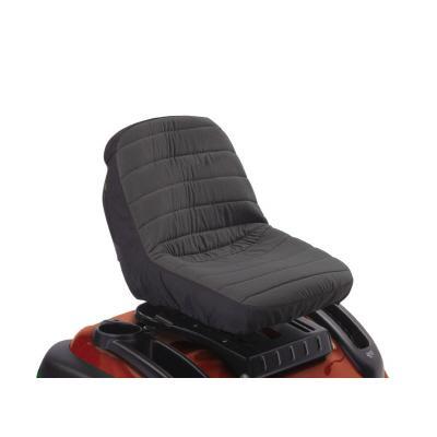 Classic Accessories 12324 Deluxe Tractor Seat Cover - Black -Medium