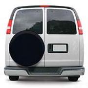 Classic Accessories 75347 Univeral Spare Tire Cover - Black - Small