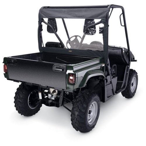 Classic Accessories 78637 UTV Rear Window - Yamaha Rhino - Black/PVC