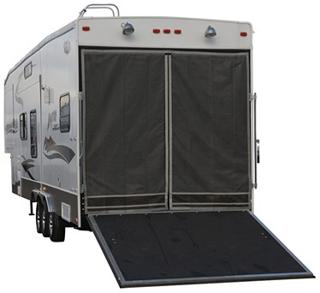 Classic Accessories 79994 Toy Hauler Screen Magnetic - Black and Gray