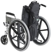 Cramer Decker Medical CD1014-SD  Me Medical Cylinder Wheelchair Bag