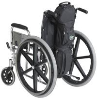 Cramer Decker Medical CD1014-SD  Me Medical Cylinder Wheelchair Bag