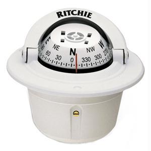 Ritchie Compass F-50W Flush Mount Explorer  - White