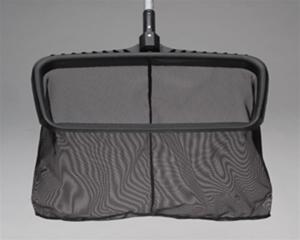 Ocean Blue Water Products 125020 Heavy Duty Deep Bag Leaf Rake with long wear mesh screen