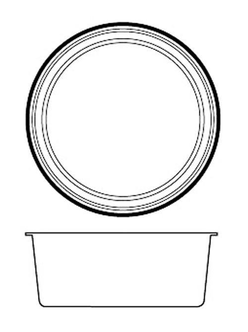 Paderno World Cuisine 47786-02 Non-Stick Silicone Mold  Cup