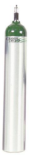 Cramer Decker Medical K870MET Me Oxygen Cylinder With Toggle Valve
