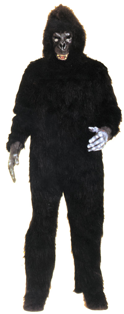 Costumes For All Occasions AD23 Gorilla No Chest 1 Size