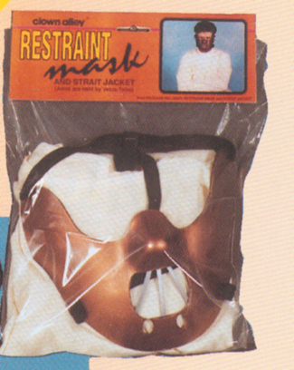 Costumes For All Occasions 11456 Restraint Mask
