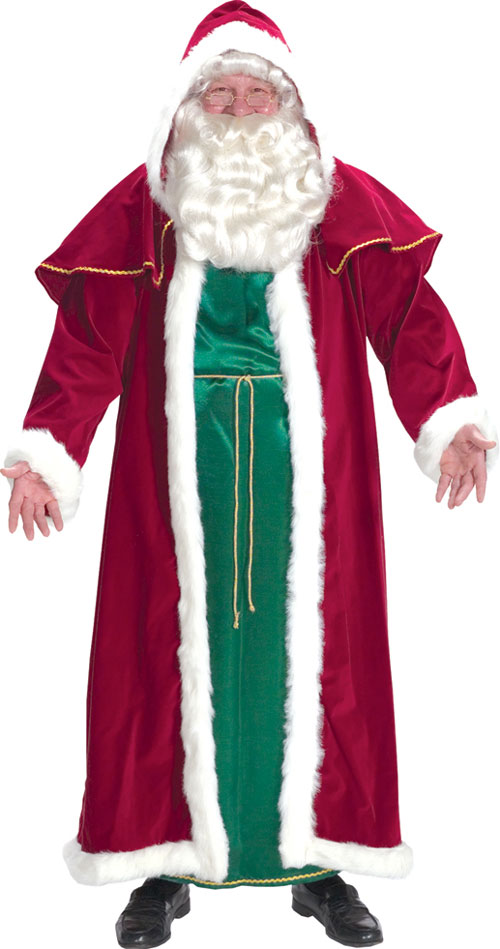 Costumes For All Occasions AE7755 Santa Suit Victorian