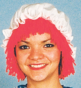 Costumes For All Occasions 12109 Raggedy Ann Wig With Hat