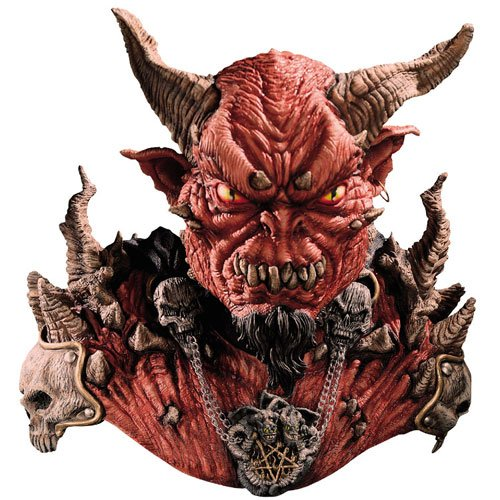 Costumes For All Occasions MI7096 El Diablo Mask & Shoulders