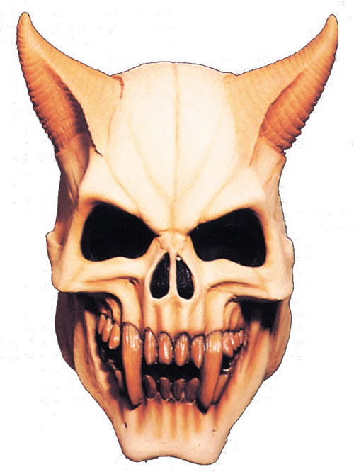 Costumes For All Occasions MI9705 Devil Skull