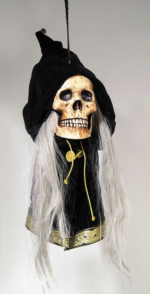 Costumes For All Occasions MR123010 Grim Deluxe Hanging Skull
